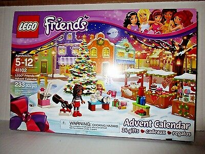 LEGO Friends Advent Calendar 41102 Christmas Holiday Themed Building Toy Kit