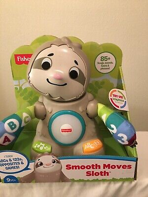 New Fisher-Price Linkimals Smooth Moves Sloth Moving Sloth FFP