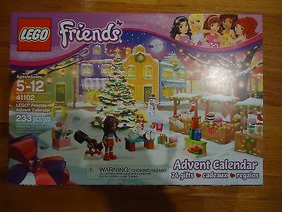 NEW LEGO 411020 Freinds Advent Calendar Box Set Andrea Liza Rabbit Snowman