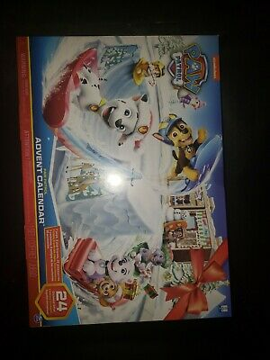 Paw Patrol, 2019 Advent Calendar with 24 Collectiblepiece Kid Toy Gift
