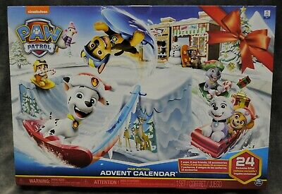 PAW PATROL ADVENT CALENDAR ~ ITS CUTE! ~ BRAND NEW ~ FREE SHIPPING