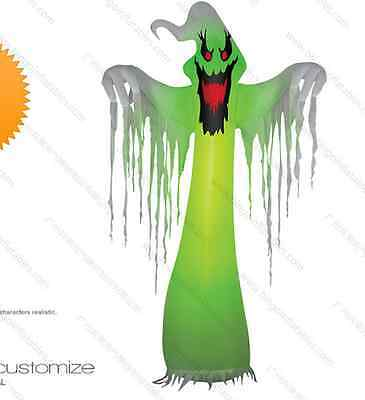 Popular Giant Inflatable LED Ghost for Halloween Decoration 10ft with Blower nz