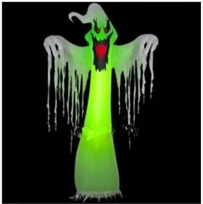 Popular Giant Inflatable Led Ghost For Halloween Decoration 10Ft With Blower iw