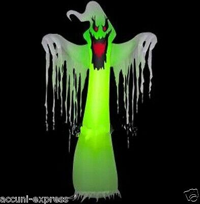 Popular Giant Inflatable LED Ghost for Halloween Decoration 10ft with Blower S