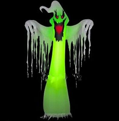 Popular Giant Inflatable LED Ghost for Halloween Decoration 10ft with Blower t