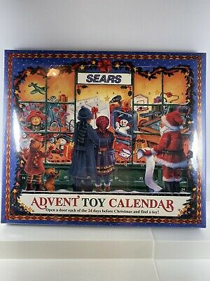 Sears Advent toy calendar NEW sealed 1997 24 toys in all