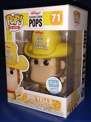 AD ICONS KELLOGS SUGAR CORN POPS BIG YELLA FUNKO POP VINYL FIGURE #71