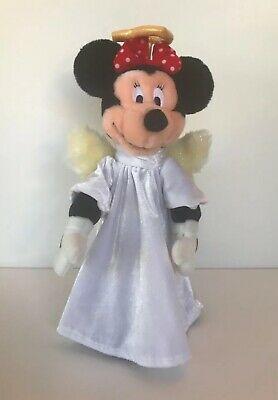 "Angel Minnie Mouse Christmas Tree Topper 13"" Plush Walt Disney Company Plush"