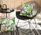 Decorative tropical pillow case banana leaf palm leaf throw pillow cushion cover