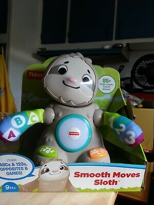 Fisher Price Linkimals Smooth Moves Sloth Lights, Music and fun