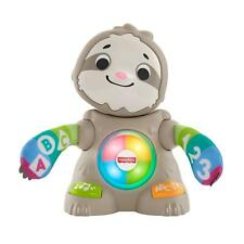 Fisher-Price Linkimals Smooth Moves Sloth, w/ Music & Lights for Ages 9 Months +