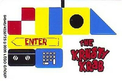 LEGO 3833 - Spongebob - Krusty Krab Adventures - STICKER SHEET