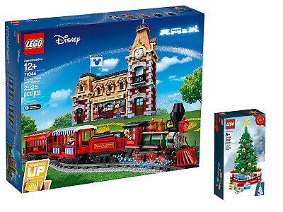 LEGO Disney Train and Station 71044 LEGO Christmas Tree 40338 Limited Edition