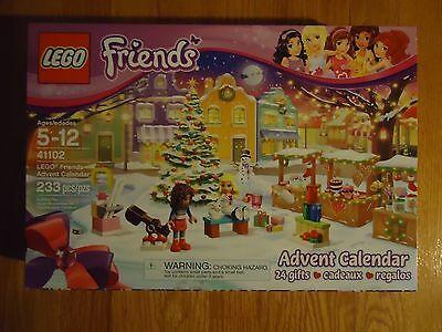 LEGO Friends Advent CalendarToys 41102 Christmas Holiday Themed Building Kit NEW