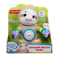NEW Fisher-Price Linkimals Smooth Moves Sloth, with Music & Lights