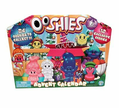 Ooshies 2018 Dreamworks Advent Calendar With 24 Figures trolls,