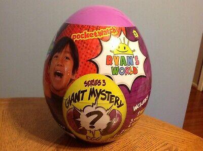 Ryan's World Giant Mystery Egg 1 Set (Series 3 Purple) New In Hand