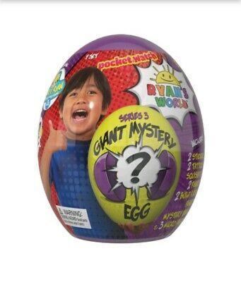 Ryan's World Series 3 Giant Egg Mystery Surprise [Purple]