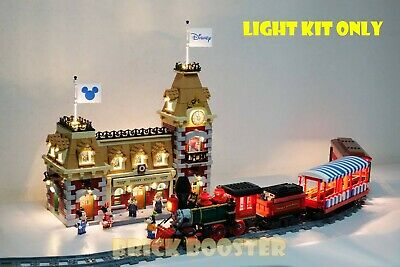 USB and Battery Powered LED Light Kit for Lego 71044 Disney Train and Station