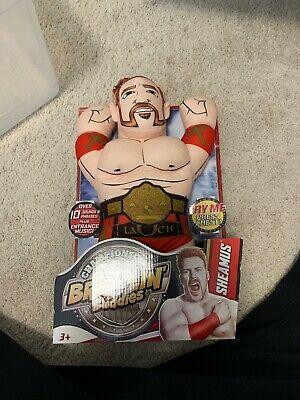 """WWE Championship Brawlin' Buddies SHEAMUS New Talking 15"""" Soft figure plush"""