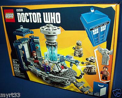 21304 BBC DOCTOR WHO LEGO Tardis CUUSOO/IDEAS - sealed new NISB 623 pc