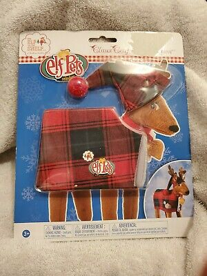 Elf on the Shelf Reindeer Pajamas Set Novelty Claus Couture Clothes Elf Pets New
