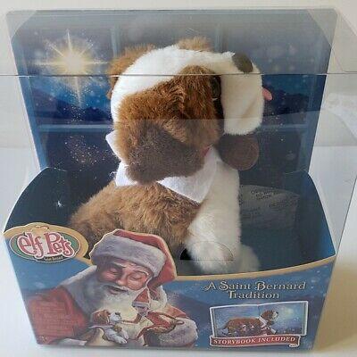 Elf Pets Elf on The Shelf A Saint Bernard Tradition Dog Plush & Story Book Set