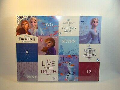 Frozen 2 Advent Calendar 12 Days of Socks Kids Size 7.5-3.5 Brand New