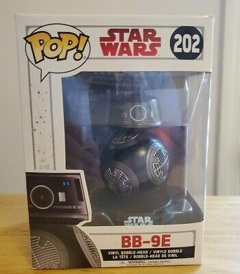 Funko Pop! Star Wars BB-9E Bobble Head The Last Jedi Episode 8 Vinyl Disney 2017