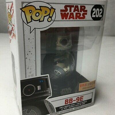 Funko Pop Star Wars BB-9E Chrome Episode VIII The Last Jedi #202 Vinyl Figure