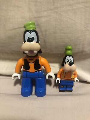 Lego Disney Duplo Goofy & Goofy mini figure From 71044 Disney Train And Station