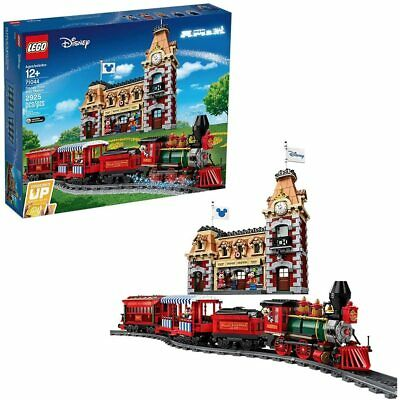 NO BOX LEGO DISNEY TRAIN AND STATION 71044 MICKEY MOUSE MINNIE GOOFY NEW NO BOX