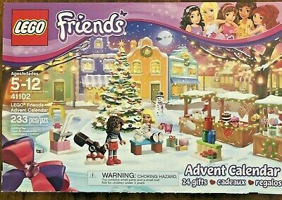 Lego Friends Christmas Advent Calendar 41102 New In Sealed Box Retired