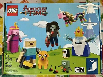 Lego Ideas #016 Set# 21308 Adventure Time 495pcs New Sealed 2017 Cartoon Network