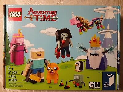 Lego Ideas 21308 Adventure Time 495pcs New Sealed 2017 Cartoon Network