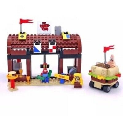 LEGO Spongebob Squarepants 3833 Krusty Krab Adventures Complete Figures No Box
