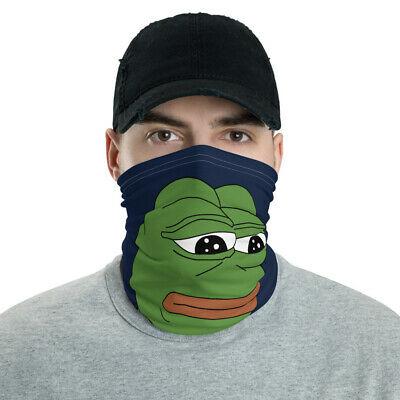 Mask Face Covering Bandana Pepe Frog Meme Magic Kek Shadilay Patriotic Safety