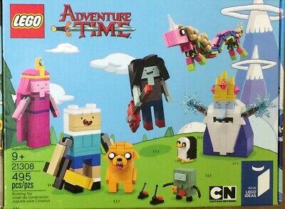 NIB LEGO Cartoon Network Adventure Time 21308 495 pieces Toy Set