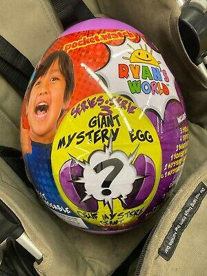 RYAN'S WORLD Giant Mystery Purple Egg Series 3 Surprise Ryans Egg Brand New