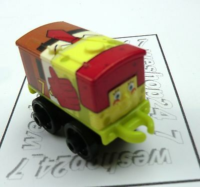 THOMAS & FRIENDS Minis Train Engine 2016 SPONGEBOB Toby as SPONGEBOB ~ Weighted
