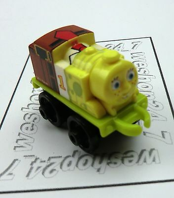 THOMAS & FRIENDS Minis Train Engine 2016 Thomas as SPONGEBOB NEW ~ Weighted