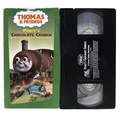 Thomas & Friends Percy's Chocolate Crunch and Other Adventures VHS Tape Animated