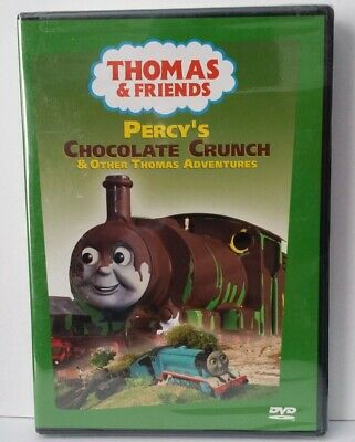Thomas Friends - Percy's Chocolate Crunch (DVD, 2003) Sealed