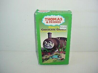 Thomas Friends - Percys Chocolate Crunch (VHS, 2003)