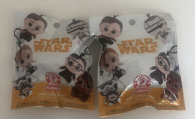 Two Funko Pop! Star Wars Solo Mystery Mini Collectible Plush Keychains