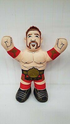 "WWE Sheamus Brawlin' Buddies Talking Plush Wrestling 16"" Mattel 2012 Shamus"