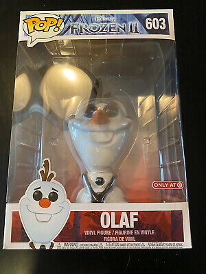 "10"" Inch Funko Pop Target Exclusive #603 Olaf Frozen 2 New"