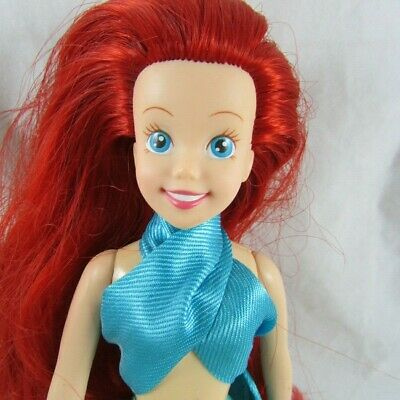 """9"""" Little Mermaid Ariel Doll with Tail Tyco Disney 1990s"""
