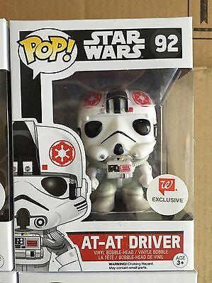 At-At Driver Pop Funko Walgreens Exclusive STAR WARS! *NEW *RARE *Protector