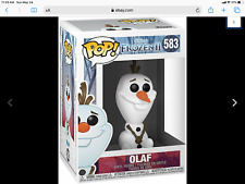 Authentic Funko Pops Disney Frozen 2 Olaf Vinyl Figure New Rare
